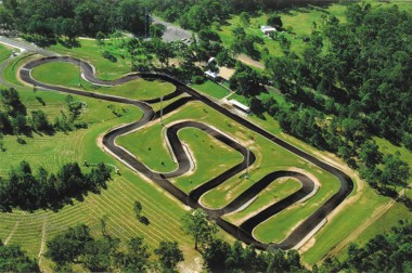 The BigKart Track. The Big Kart Track is the largest commercial go-kart track in Australia. The track is 1.2 km in length and 8 metres wide. Put your witts against big sweeping bends, challenging chicanes, hair-rising hairpins and supercharged straights.