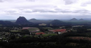 Glass House Mountains. These rugged volcanic peaks that tower above the surrounding landscape are listed on the Queensland and National Heritage Register as a landscape of national significance. The peaks are also culturally significant to the traditional owners, the Gubbi Gubbi people. In Aboriginal legend the mountains are members of a family with the father being Mount Tibrogargan and the mother Mount Beerwah.